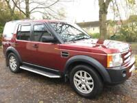 55 Reg Land Rover Discovery 3 2.7 S AUTO (7 SEATS).eg freelander td5 shogun xtrail range rover sport