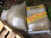 BUILDERS 20mm BALLAST x8 BAGS 1 1/2 BAGS CEMENT 3/4 BAG SHARP SAND
