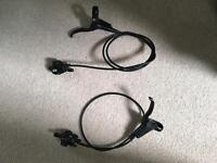 Tektro HTC-300 Hydraulic brake set - pair