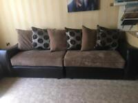 Corner suite, 3 seater and 2 seater sofa set