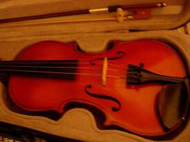 3/4 size violin -Otto Jos Klier(1990) excellent condition, West German instrument, plays beautifully