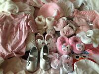 Large bag baby girl items 100+ 0-6 months