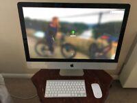 Apple iMac 27 inch Quad Core 3.4GHz i7, 32GB RAM, 1TB SSD + 2TB HDD, 2GB Graphics