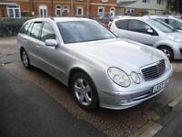 MERCEDES-BENZ E CLASS E220 CDI Avantgarde 5dr Tip Auto (silver) 2004