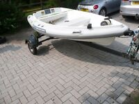 Walker Bay RID 275 - Walker Bay 8 + tube Original Walker Bay kit, road/launching combo trailer