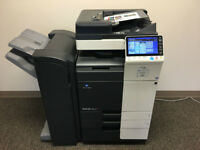 Konica Minolta Bizbub C284e Colour Laser Printer/Copier/Scanner/ AirPrint from Mobile or Tablet !!