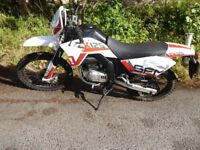 SFM ZX125 Enduro/Trail style learner legal bike 2014 with current MoT