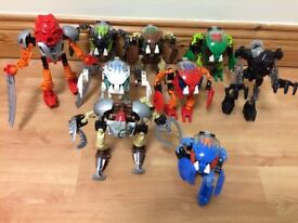 Lego Bionicles Job lot