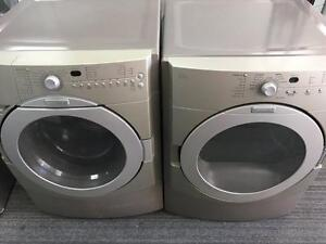 27- KITCHEN AID Laveuse Secheuse Frontales Frontload Washer Dryer