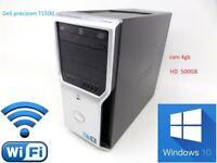 dell precision T1500 workstation pc-refurbished--win 10 pro