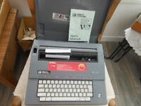 Typewriter Smith Corona Model SL470 Electric with instructions
