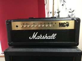 Marshall MG 100FX Head plus footswitch