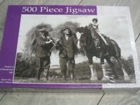 Farmers In Northumberland in 1965 - 500 Piece Jigsaw- Javelin Designs*New & Sealed*