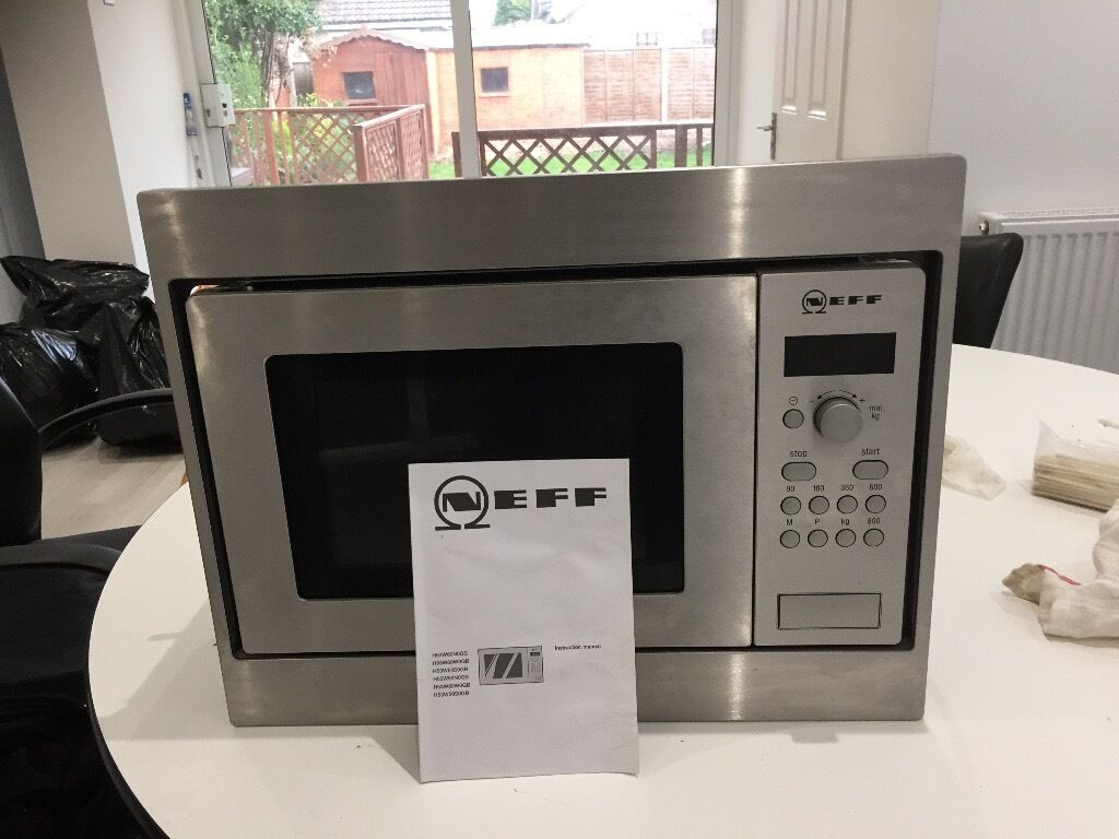 Neff Integrated Microwave With Manual Rrp 362