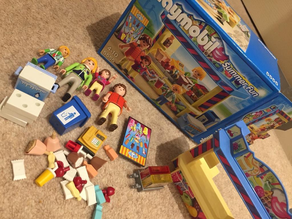 Playmobil Summer Fun Shop 5555