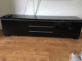 High Gloss TV Unit.