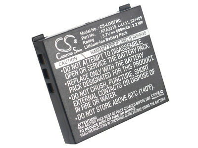 190310-1000 Battery for Logitech G7 Laser Cordless Mouse, MX Air, M-RBQ124 New
