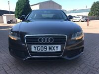 2009 AUDI A4 DIESEL LIMOUSINE-YEAR MOT-VGC-FULL SERVICE HISTORY-6 SPEED GEARBOX-LOW DIESEL MILEAGE
