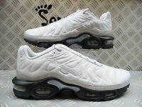 Nike Mens Air Max Plus Quilted Tuned 1 TN Silver Size 7.5 UK/EUR 42 806262 020