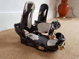 Snowboard bindings Salomon Relay Thruster medium