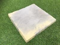 18x18 Paving Flags Slabs York Stone Riven Antique Blend