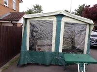 Trailer tent and set up...excellent condition comes with everything thats needed