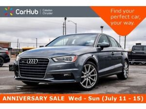 2015 Audi A3 2.0T Progressiv|Sunroof|Bluetooth|Heated Front Sea