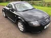 2005 Audi TT 1.8Turbo 180BHP 1yrs Mot 6mth warranty