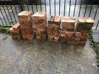 90 X Red Bricks - in SE18