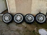 BMW 5x120 CSL Replica alloy wheels ( e36 e46 e90 e92 )