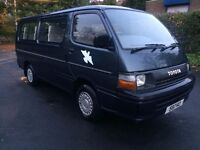 TOYOTA HIACE MINIBUS 1991 2.0 PETROL 12 SEATS ONLY DONE 57 000 MILES EXPORT