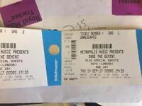 Two sage the tickets 14/09/2017 XOYO London @ 19.30