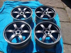 "Rays Engineering Forged 350z Wheels 18"" 5x114.3"