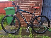 "Mountain bike serviced 29"" wheels hydraulic disks 29er MTB hardtail bicycle 29 inch"