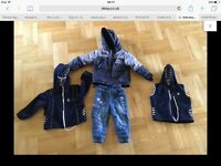 kids boys set winter ( 2-3 years - 98cm ) - used