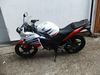 Honda CBR125 2015 one owner good condition
