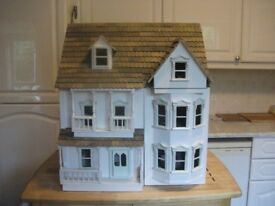 Dolls House / Double Fronted Colonial Style Doll's House