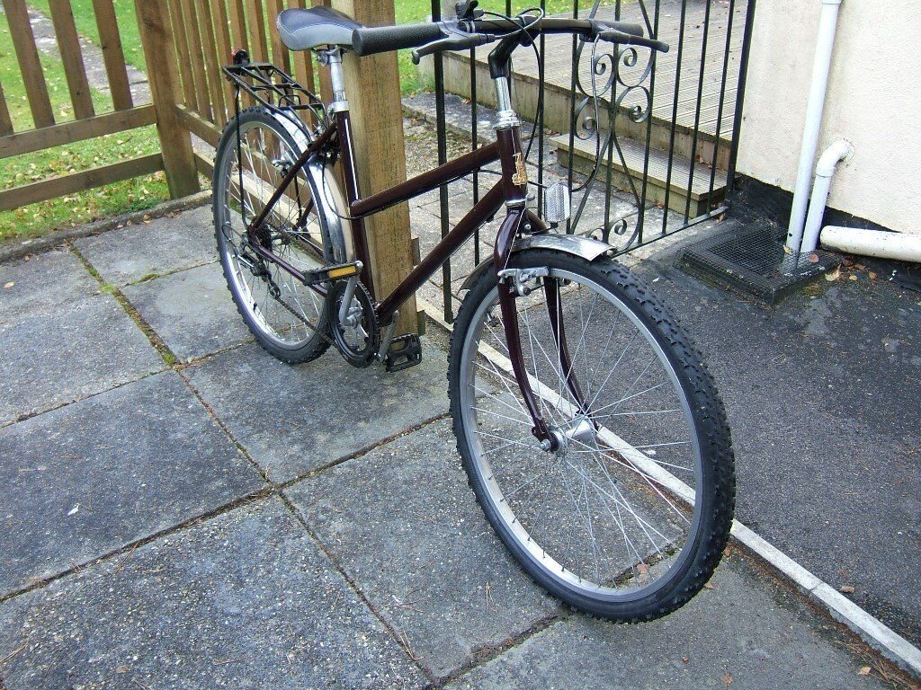 girls cycle for sale good cond rayleigh rear light/carrier