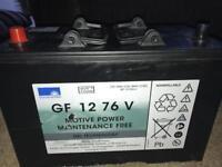 12V leisure battery NEW