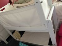 Snuz pod bed side baby crib