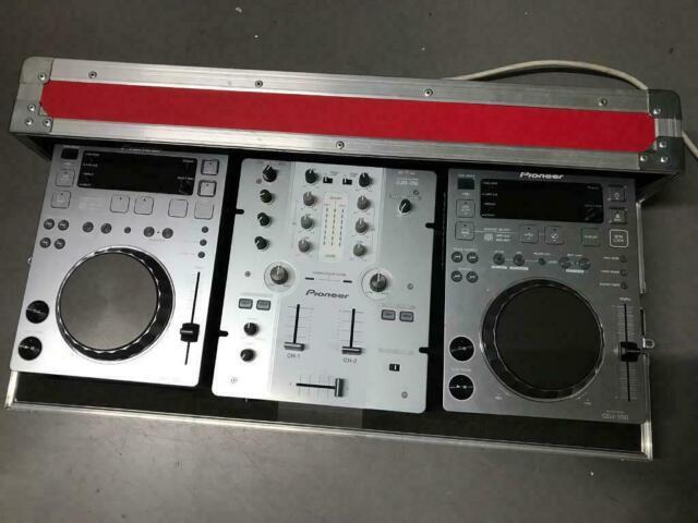 2x Pioneer CDJ 350 USB Rekordbox Decks Grey + DJM 250 Mixer + Pro350 Flight  case | in Eltham, London | Gumtree