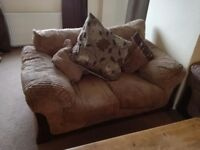 Three Seater x 1, Two Seater x 2 in Jumbo Cord. Great Condition £250 for all three.