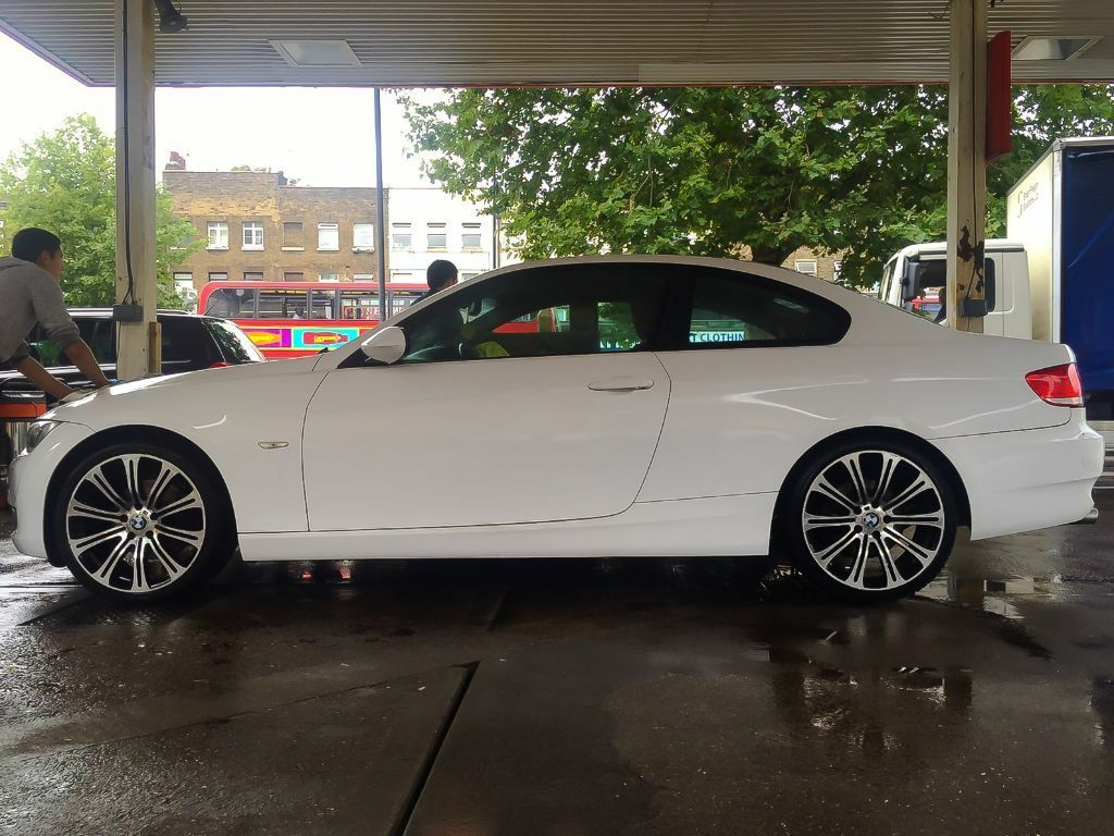 BMW 3 Series bmw 3 series advert WHITE BMW 3 SERIES 2.0 320d SE 2dr WITH TOFFEE INTERIOR - MY ...