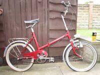 vintage foldup bike, ( Restoration project )