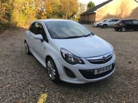 Vauxhall Corsa, White, Bluetooth & Sat Nav