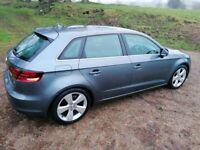 Audi, A3, Hatchback, 2014, Manual, 1598 (cc), 5 doors, Tax Free