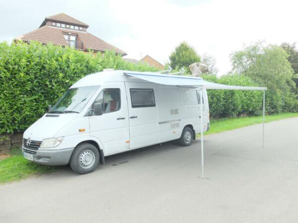 Bmw sprinter camper for sale autos post for Mercedes benz conversion vans for sale