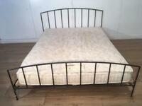 Habitat Double bed and mattres with free delivery within 10 miles