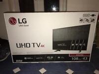 Lg UHD Tv 4K 43 inch