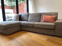 Ikea KIVIK 4-seat sofa with chaise longue